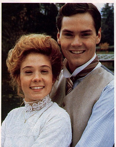 Jon with Megan Follows. Taken from A Homage to Jonathan and Gilbert